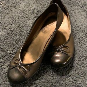 Copper Life Stride flats too cute! Sz 9.5 Women's